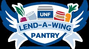 Lend-A-Wing pantry logo.