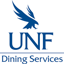 UNF dining Services logo.