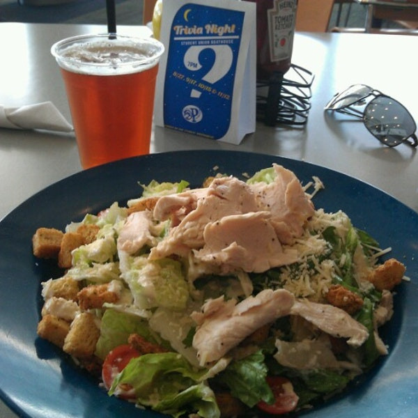 A turkey salad from the Boathouse.