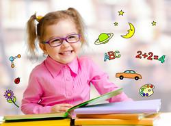 bigstock-Happy-child-girl-in-glasses-re-
