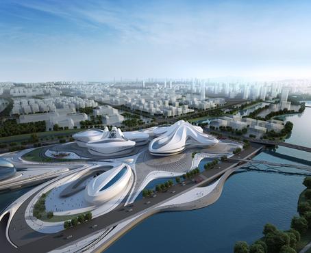 Arch Hoje: Arch Projetos- Centro Internacional de Cultura e Artes Changsha Meixihu