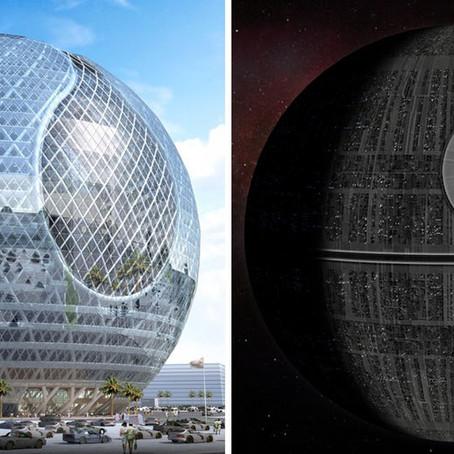 Arch Hoje: Arch Curiosidades- Projetos inspirados em Star Wars!!