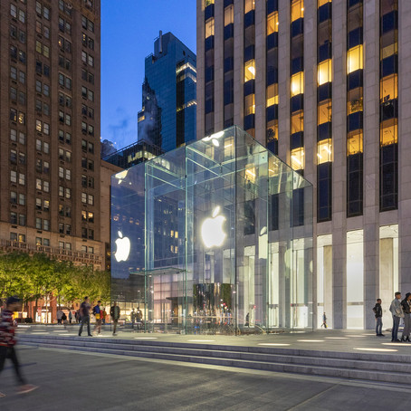 Arch Daily: Arch Projetos- Apple Store Fifth Avenue