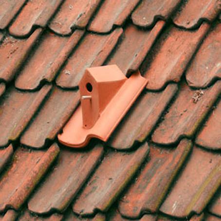 Arch Hoje: Nano Archtetura- Birdhouse Rooftile