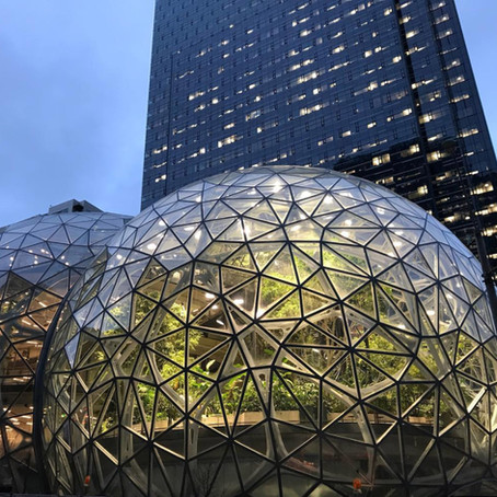 Arch Hoje: Arch Projetos - Amazon Spheres