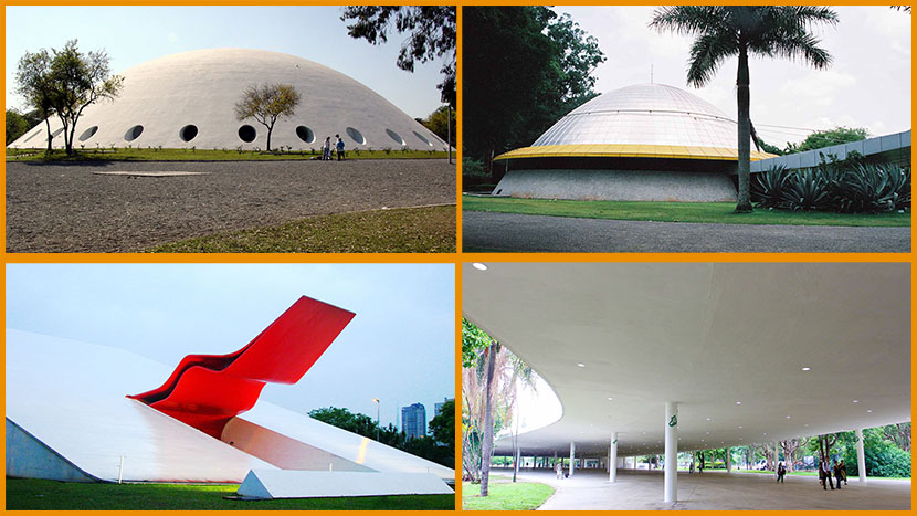 Edifícios do Parque do Ibirapuera