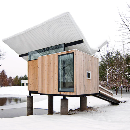 Arch Hoje: Nano Archtetura- Meditation Hut III, Victor