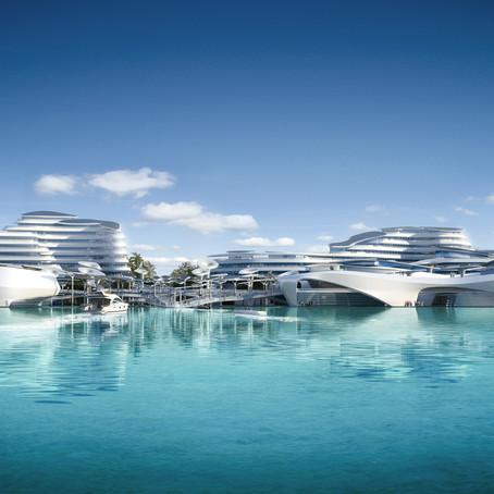 Arch Hoje: Arch Projetos- Cidade Ecológica Maldivas