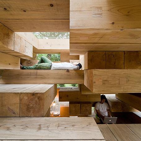 Arch Hoje: Nano Archtetura- Final Wooden House