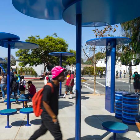 Arch Hoje: Nano Archtetura- Ponto de ônibus Santa Monica