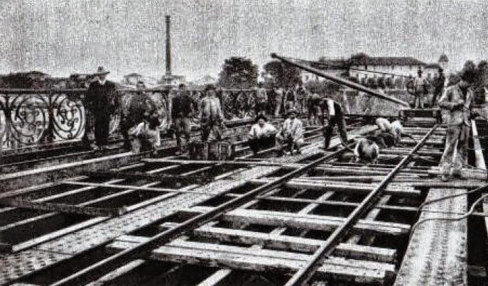 Mão de obra e construção, 1913