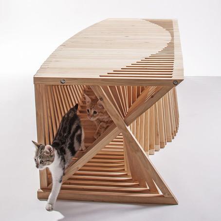 Arch Hoje: Nano Archtetura- Feral Cat Shelter