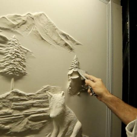 Arch Hoje: Arch Inspirações e Energia- Arte em Drywall