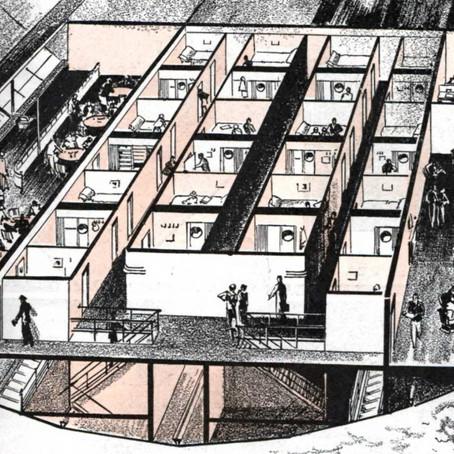 Arch Hoje: Arch Curiosidades- Interior de um Zeppelin