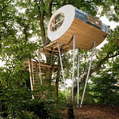 Arch Hoje: Nano Archtetura- Treehouse Djuren