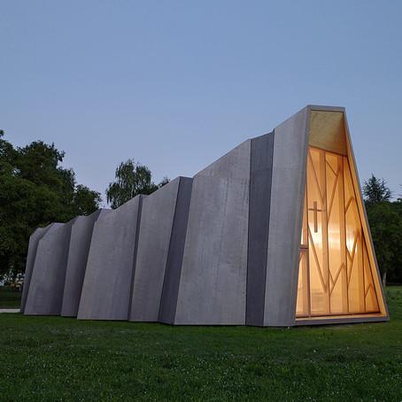 Arch Hoje: Nano Archtetura- St-Loup Chapel