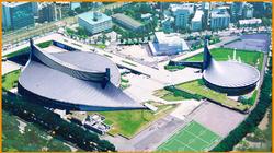 Yoyogi National Gymnasium for the 1964 Summer Olympics