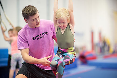 safety, shields gymnastics