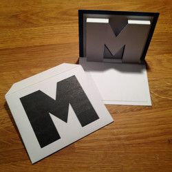 M with envelope