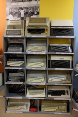 Atari and Commodore Wall