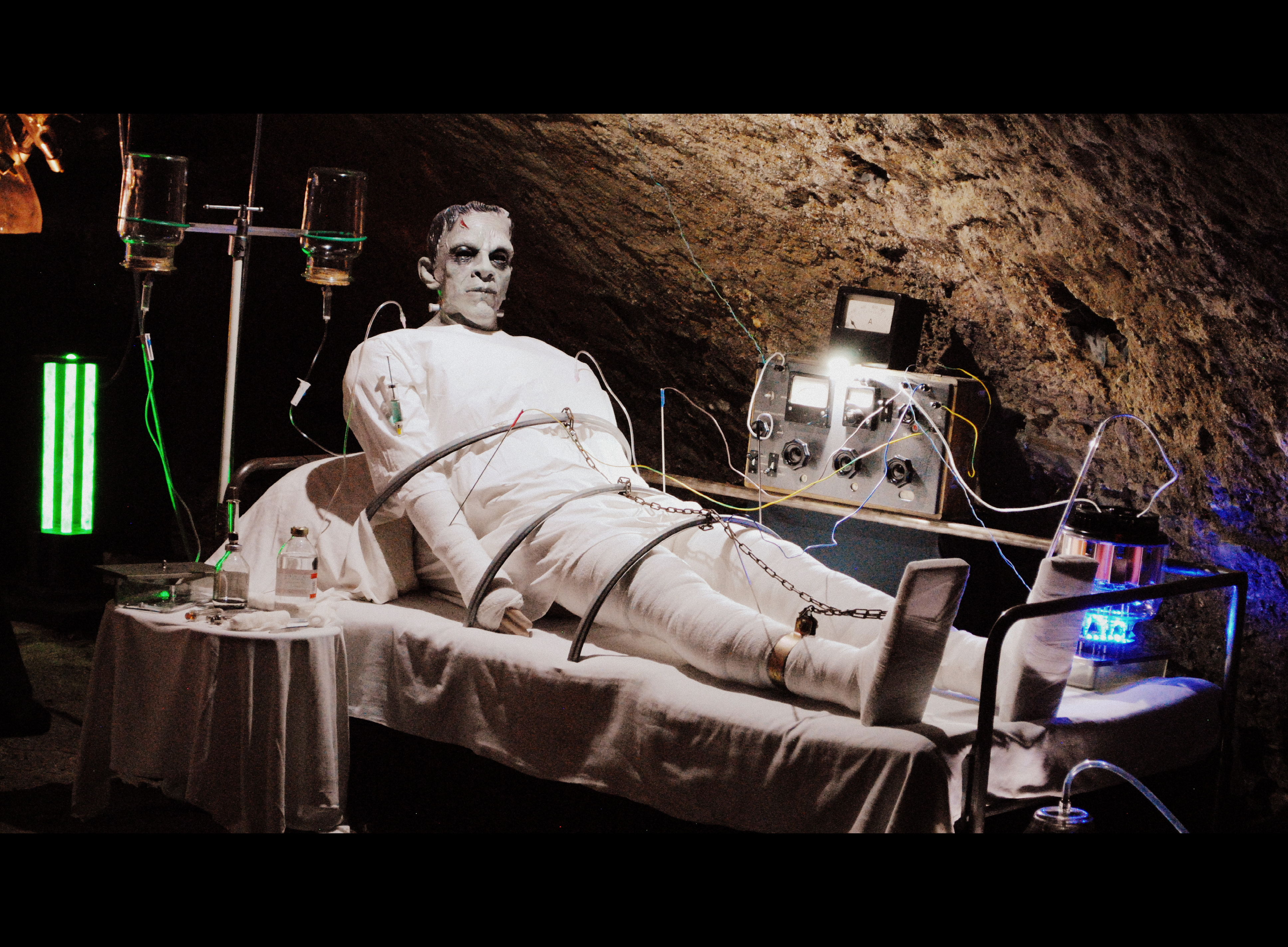 Jedová chýše - Frankenstein Victor