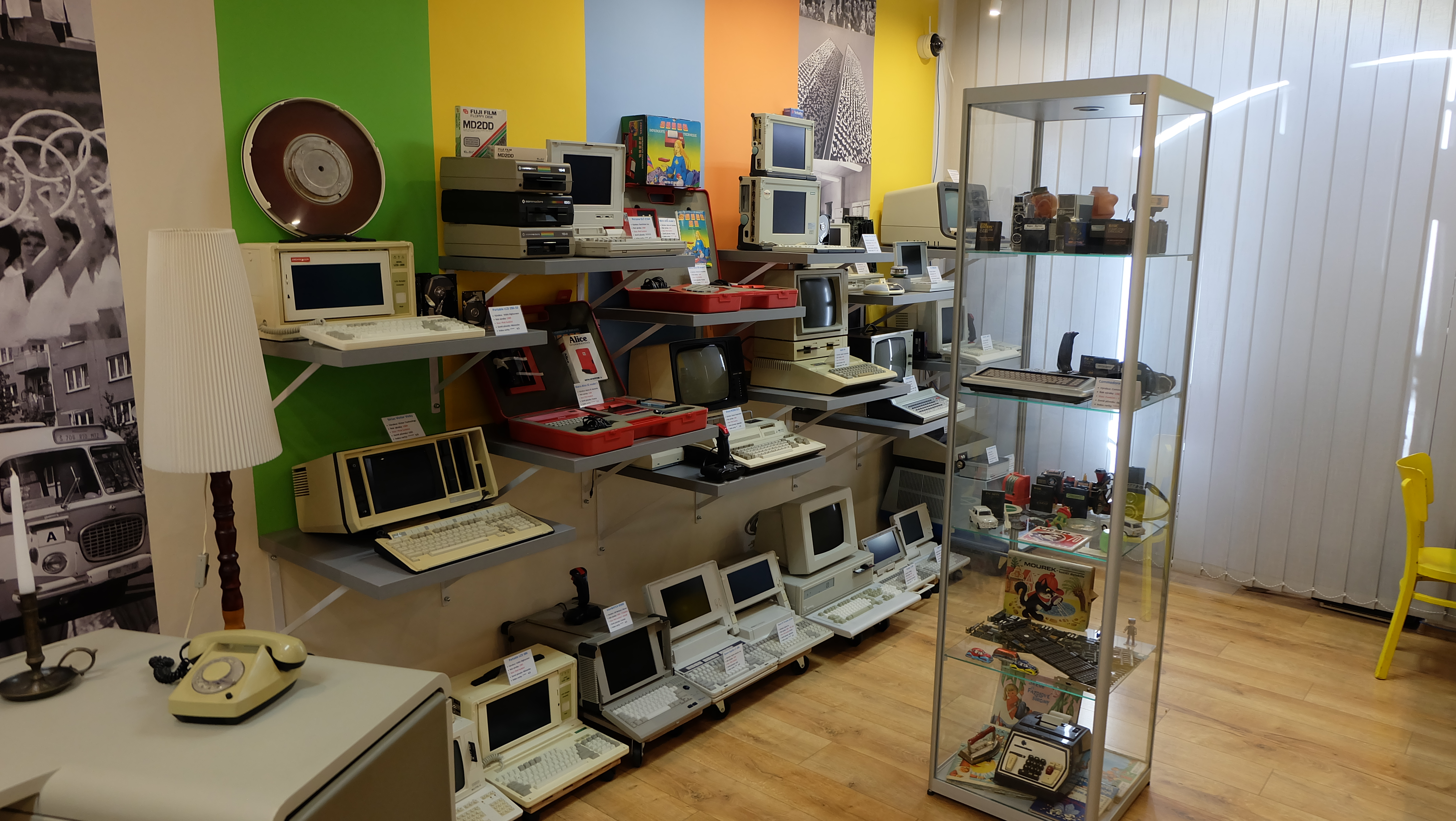 Vintage Computers and notebooks