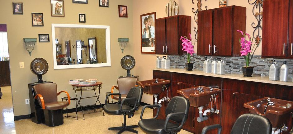 Hair washing station
