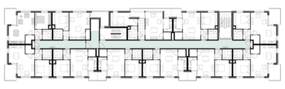 Residentie Keizerhof grondplan