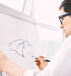 disegnare auto