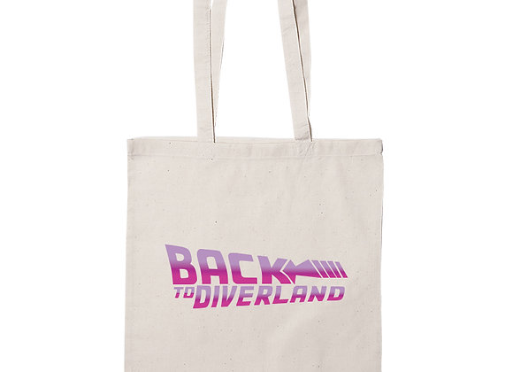 TOTE BAG BACK TO DIVERLAND