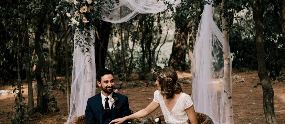 Un superbe mariage à la Grangette