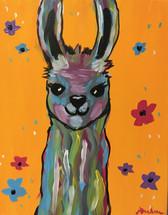 Colorful Llama