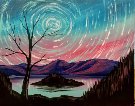 Celestial Crater Lake