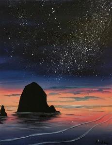 Cosmic Haystack Rock