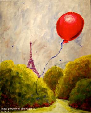 Baloon over Paris