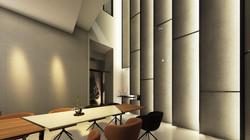 室內透視圖-一層挑空區會議室01