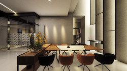 室內透視圖-一層挑空區會議室02