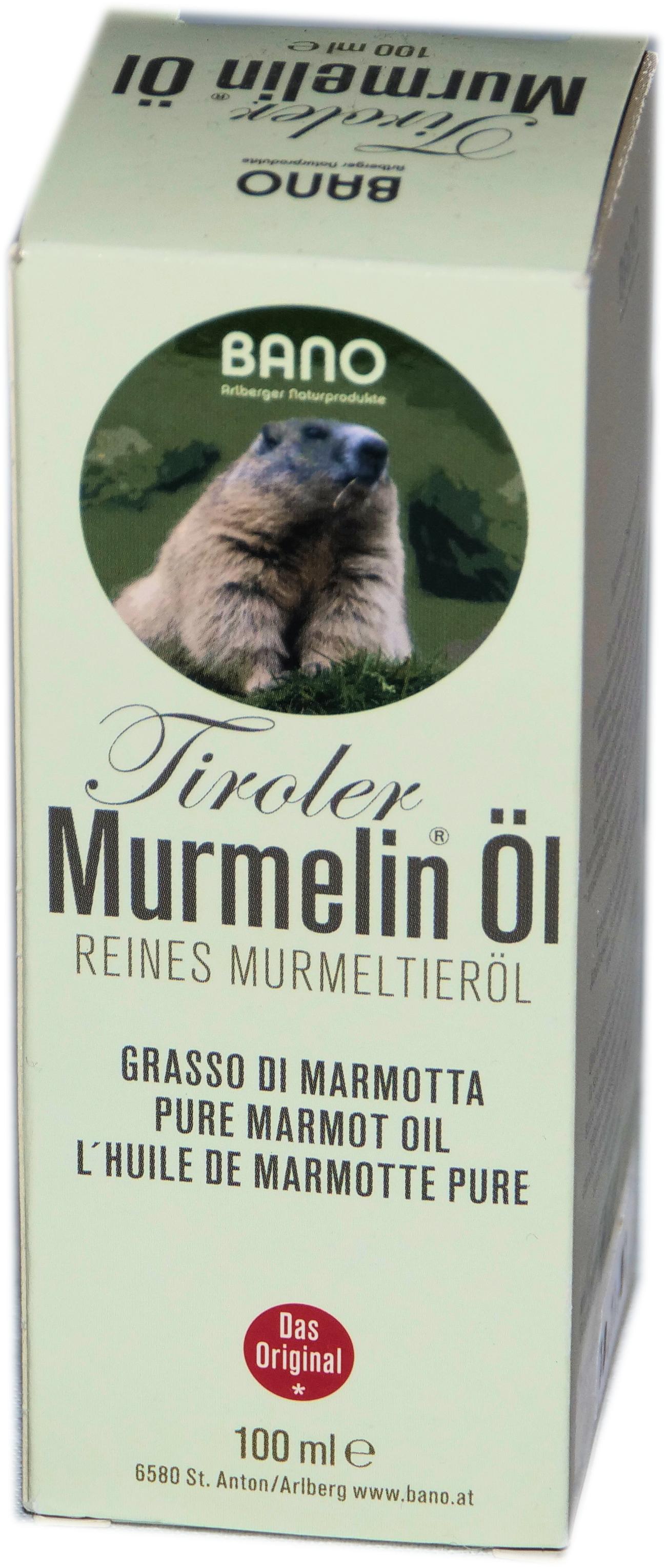 Tiroler Murmeltier Öl