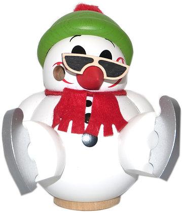 Kugelräucherfigur Cool Man mit Schlittschuhen- Höhe 9 cm