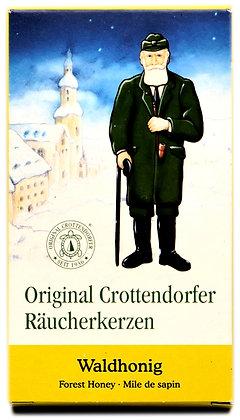 Original Crottendorfer Räucherkerzen -Waldhonig - Inhalt 24 St.