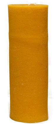 100% Bienenwachskerze  - Stumpenkerze - 12 x 7.9 cm