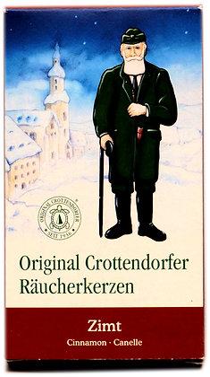 Original Crottendorfer Räucherkerzen -Zimt - Inhalt 24 St.