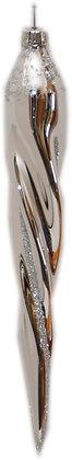 Eiszapfen silber - 14cm