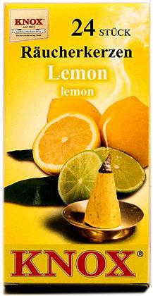 Knox Räucherkerzen - Lemonduft  - Inhalt 24 St.