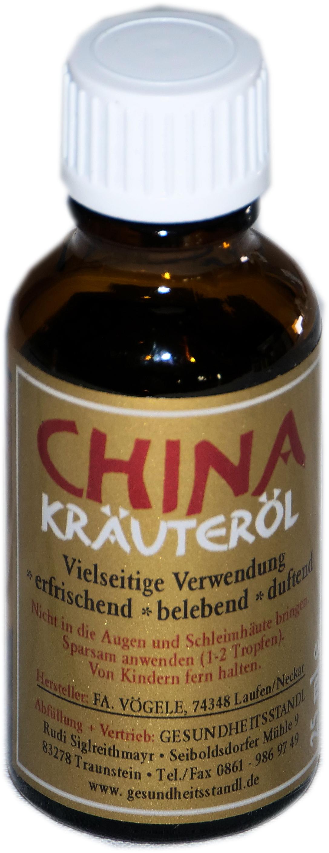 China Kräuteröl