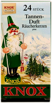 Knox Räucherkerzen - Tannenduft - Inhalt 24 St.