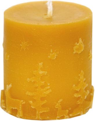100% Bienenwachskerze  - Stumpenkerze – Höhe  5,5 cm - ca. 5,3 cm Ø