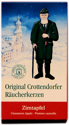 Original Crottendorfer Räucherkerzen -Zimtapfel - Inhalt 24 St.