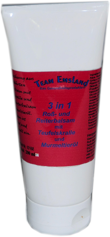 3 in 1 Roß- und Reiterbalsam Tube 200ml