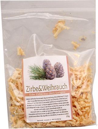 Räucherwerk - Zirbe & Weihrauch 25g